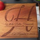 Monogram Custom Engraved Cutting Board