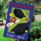 Graduation Congrats Personalized House Flag