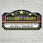 Welcome to the Movies Personalized Wall Sign