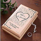Elvis Can't Help Falling in Love Engraved Jewelry Box