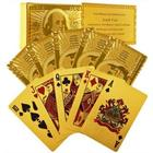 24 Carat Gold Foil Plated Poker Cards