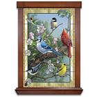 Window To Nature Songbird-Themed Illuminated Wall Art