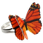 Monarch Butterfly Ring