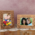 Personalized Butterfly Wooden Picture Frame