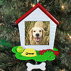 Dog House Photo Ornament