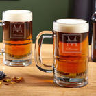 Oakhill Personalized Beer Mugs
