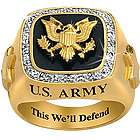 This We'll Defend US Army Ring