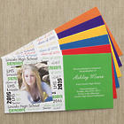 Custom Photo Graduation Announcement Postcards with Envelopes