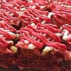 Red Velvet Bar Valentine's Cookies