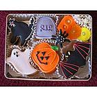 Happy Halloween Sugar Cookie Gift Tin
