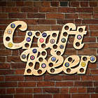 Craft Beer Bottle Cap Holder Bar Sign
