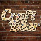 Craft Beer Bottle Cap Holder Bar Sign