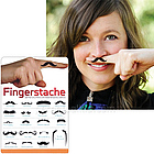 Fingerstache Tattoos
