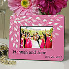 Personalized Leaves of Love Mini Picture Frame Wedding Favor