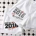 Personalized Graduation Kiss My Class Boxer Shorts