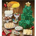 Christmas Tree Tower of Treats & Popcorn Gift Tin