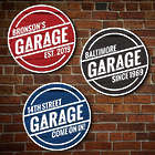 Car Lover's Personalized Wood Garage Wall Sign