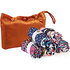 Rolling Stone Pouch of 5 Reusable Shopping Bags