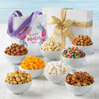 Mother's Day Jumbo Popcorn Sampler Gift Box with Tote Bag