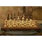 Clash of Titans Wood Chess Set