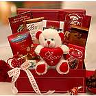 Be My Love Chocolate Valentine's Day Gift Basket