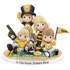 In This House, Steelers Rule Bisque Porcelain Fan Figurine