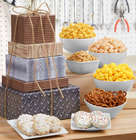 The Man Can Snacks and Sweets 5-Tier Gift Tower