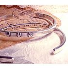 You Are Very Special To Me Sterling Silver Cuff Bracelet