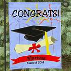 Graduation Congrats Personalized Garden Flag