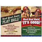 And God Said Baseball and Football Books