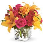 Uniquely Chic Compact Flower Bouquet