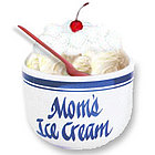 Mom's Ice Cream Bowl