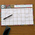 Simply Organized Personalized 11x17 Calendar Pad