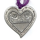 Remembrance Heart Ornament