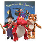 Room on the Broom Book With Witch, Cat and Dragon Dolls