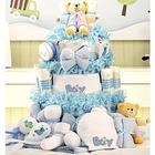 Grand Essentials Baby Boy Diaper Cake Gift