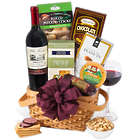 Festive Snowman Gourmet Gift Basket