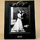 Script Monogram 4x6 Hand-Painted Picture Frame