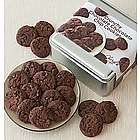 Chocolate Chocolate Crunchy Cookies Gift Tin