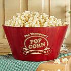 Personalized Popcorn Night Bamboo Bowl