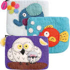 Felted Animal Coin Purses