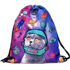 Purr-Plexed Astronaut Cat Tote