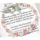 Mom Wedding Bracelet