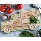 Farm Truck Server and Cutting Board