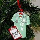 Personalized Lab Coat Ornament