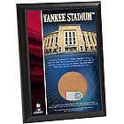 New York Yankees Plaque with Game Used Dirt