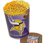 Minnesota Vikings 3 Way Popcorn Tin