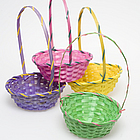 Deluxe Bamboo Easter Basket