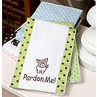 Personalized Baby Burp Cloth