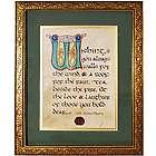 Hand-Lettered Irish House Blessing Print